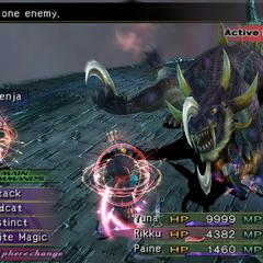 Moogle Regenja in <i>Final Fantasy X-2</i>.