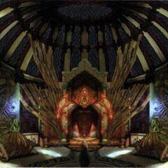 Djose Temple Interior.
