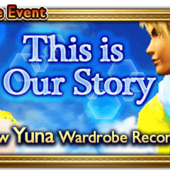 Global event banner for This is Our Story.
