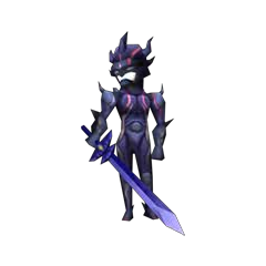 In-game render of Dark Knight Cecil (DS).