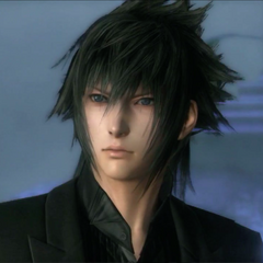 Noctis in party.