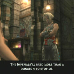 Vaan brags to Kytes about his escape from the <a href=