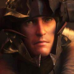 CG Midlander as a Warrior.