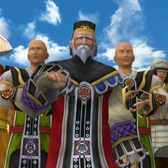 Maester Mika in <i>Final Fantasy X</i>.