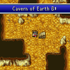 Cavern of Earth (GBA).
