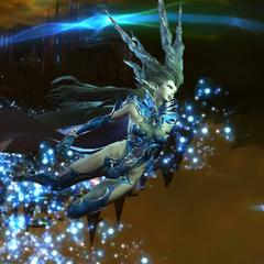 Shiva battling the <a href=