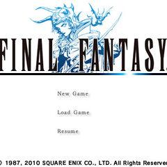 <i>Final Fantasy</i> (iOS).