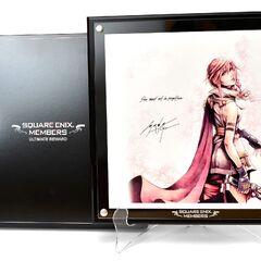 Lightning artwork by Nomura sent to select Square Enix Members.