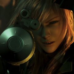 Lightning in the opening FMV.
