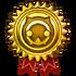 WOFF gold trophy