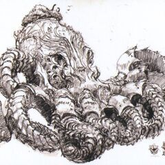 Artwork of a squid fal'Cie if it had appeared in <i>Final Fantasy XIII</i>.