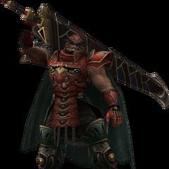 Gilgamesh's in-game model.
