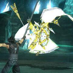 Minerva and Zack in-game.