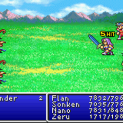 Mythril Sword in <i>Final Fantasy II</i> (GBA).
