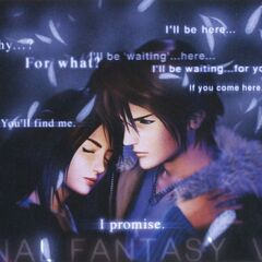Squall and Rinoa.