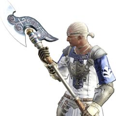 Marauder render for the original <i>Final Fantasy XIV</i>.