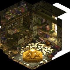 Besrudio's house, shown in a number of sidequest cutscenes.