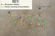 Bhujerban Madhu Locations