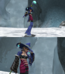 Paine Black Mage Victory Pose