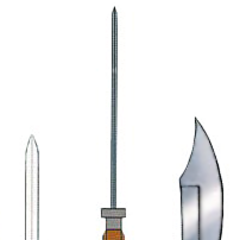 Unused concept artwork for the Knife.