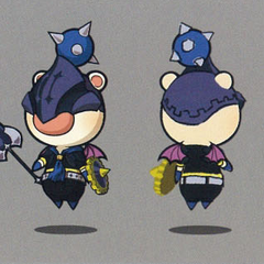 Artwork of the moogle of Class Second.