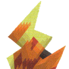 Flame Shield in <i>Final Fantasy: The 4 Heroes of Light</i>.