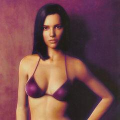 The original 'bikini shot' render by Steve Giesler and Francisco A. Cortina.