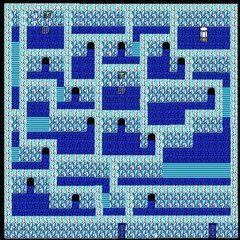 Pandaemonium's Fourth Floor's Left Rooms (NES).