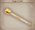 Bravely Default Sage's Staff