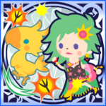 FFAB Chocobo Kick (Summon Chocobo) - Rydia Legend SSR