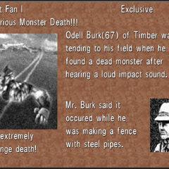 Doomtrain's trackmarks in Occult Fan I.