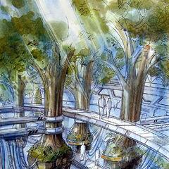 Concept of Aki's Tree hospital.