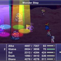 Wonder Step.