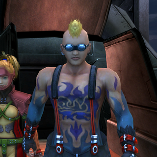 Brother and Rikku appear on the ship.