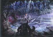 Ice Cavern FFIX Art 1