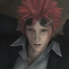 Reno in <i>Final Fantasy VII: Advent Children</i>.