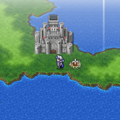 Eblan on the world map (PSP).