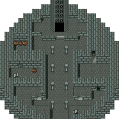 The first floor of Pazuzu's Tower.