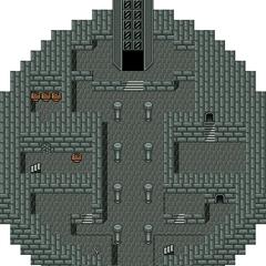 The first floor of Pazuzu's Tower.
