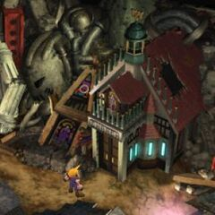 The church in <i>Final Fantasy VII</i>.