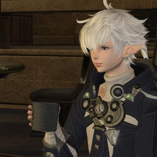 Alphinaud in-game.