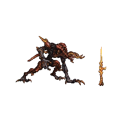 <i>Final Fantasy XIV</i> boss sprite.