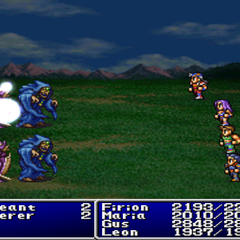 Holy4 in <i>Final Fantasy II</i> (PSX).