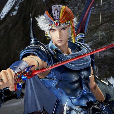 Firion in <i>Dissidia Final Fantasy</i>.