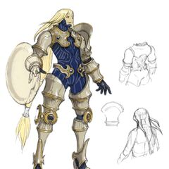 Concept art of Kam'lanaut in battle.