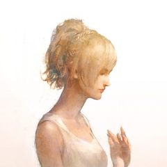 Artwork of Luna drawn for Square Enix staff's condolences for the Kumamoto and Kyushu 2016 earthquake.