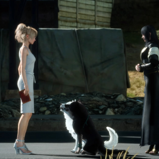 Luna greeted by Umbra and Pryna.