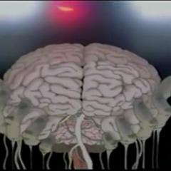Ra Devil steals Cid's brain.
