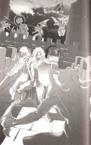 TAY Novel Art 1 - Attack on Baron