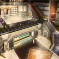 Shinra HQ lobby artwork.